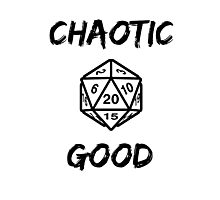 GAMER - Alignment : Chaotic good Photographic Print