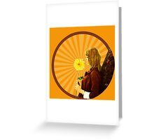 Exclusive Francoise Hardy stunning design! Greeting Card