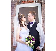 Tucker Wedding - Bride and Groom 3 Photographic Print