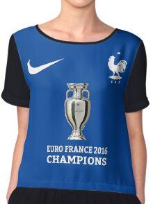 Jersey France Champions Chiffon Top