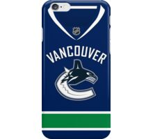 Vancouver Canucks Home Jersey iPhone Case/Skin