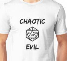 GAMER - Alignment : Chaotic evil Unisex T-Shirt