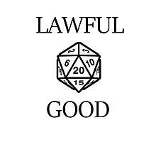 GAMER - Alignment : Lawful good Photographic Print