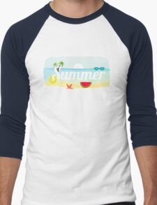 Nautical Men's Baseball ¾ T-Shirt