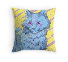Kitty Kitty Throw Pillow