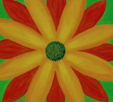 Mandala No. 2: Happy Sticker