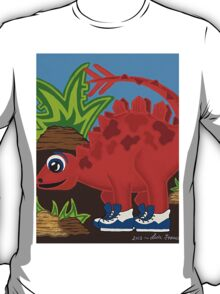 Red Dinosaur T-Shirt