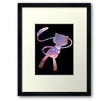 Galaxy Mew Framed Print