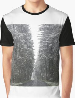 Breathtaking Snowy Forest  Graphic T-Shirt