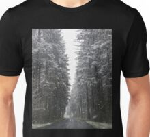 Breathtaking Snowy Forest  Unisex T-Shirt