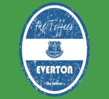 EPL 2016 - Football - Everton (Distressed) Baby Tee
