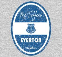 EPL 2016 - Football - Everton (Distressed) One Piece - Short Sleeve