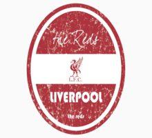 EPL 2016 - Football - Liverpool (Distressed) Kids Tee