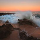 A Splash of Dawn - Koonya Beach Blairgowrie by Jim Worrall