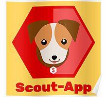 Scout-App logo (big) Poster