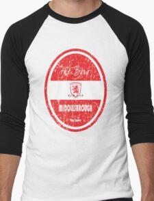 EPL 2016 - Football - Middlesbrough (Distressed) Men's Baseball ¾ T-Shirt