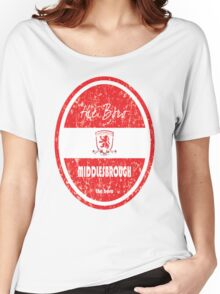 EPL 2016 - Football - Middlesbrough (Distressed) Women's Relaxed Fit T-Shirt