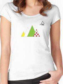 Tour de France tshirt - Peaks Women's Fitted Scoop T-Shirt