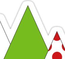 Tour de France tshirt - Peaks Sticker