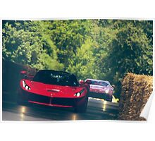 LaFerrari through the Trees Poster