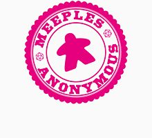 Meeples Anonymous Pink Unisex T-Shirt