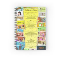 The Life of A Pioneer Song Lyrics (Snapshots) Spiral Notebook