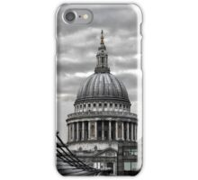 St Paul's Cathedral Monochrome iPhone Case/Skin