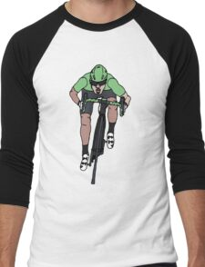 "Mark Cavendish  -  ""Le Maillot Vert"" Men's Baseball ¾ T-Shirt"