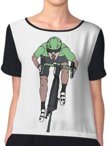"Mark Cavendish  -  ""Le Maillot Vert"" Chiffon Top"