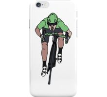 "Mark Cavendish  -  ""Le Maillot Vert"" iPhone Case/Skin"
