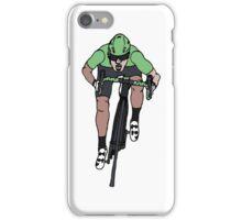 "Mark Cavendish  -  ""Le Maillot Vert"" iPhone Case/Skin"
