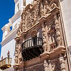 USA. Arizona. Mission San Xavier del Bac. Facade. by vadim19