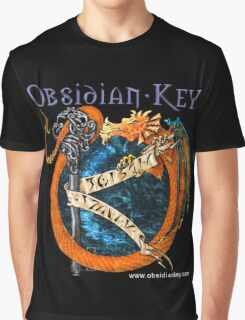 Obsidian Key - SLY Dragon - Progressive Rock Metal Music - Epic Style - (Branded) Graphic T-Shirt