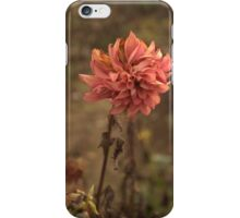 Fading Flower One iPhone Case/Skin