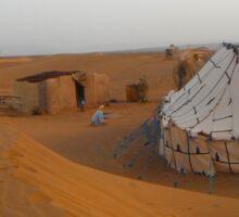 Bedouin Tent Sticker