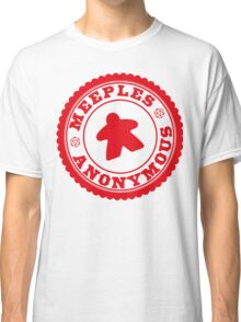 Meeples Anonymous Red Classic T-Shirt
