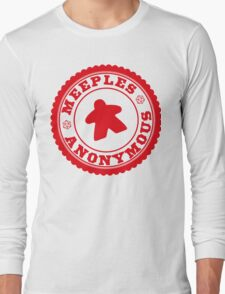 Meeples Anonymous Red Long Sleeve T-Shirt