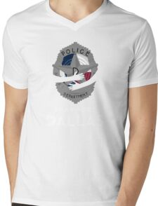 Pray for Dallas Mens V-Neck T-Shirt