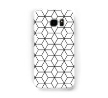 Sacred geometry pattern in black and white Samsung Galaxy Case/Skin
