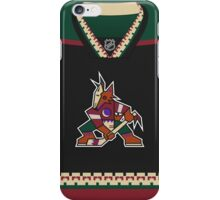 Arizona Coyotes Throwback Jersey iPhone Case/Skin