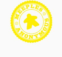 Meeples Anonymous Yellow Unisex T-Shirt