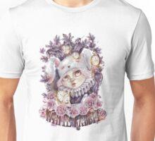 Conejo Blanco Unisex T-Shirt