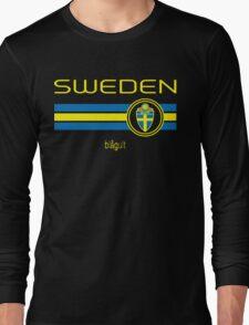 Euro 2016 Football - Sweden (Away Black) Long Sleeve T-Shirt