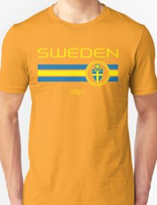 Euro 2016 Football - Sweden (Away Black) Unisex T-Shirt