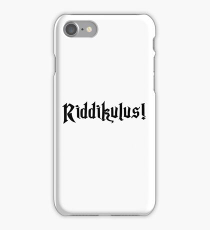 Riddikulus! iPhone Case/Skin