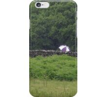 The Wall That Grew Umbrellas iPhone Case/Skin