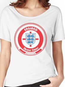 Euro 2016 Football - Team England Women's Relaxed Fit T-Shirt