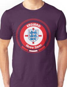 Euro 2016 Football - Team England Unisex T-Shirt
