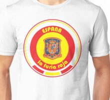 Euro 2016 Football - Team Espana Unisex T-Shirt