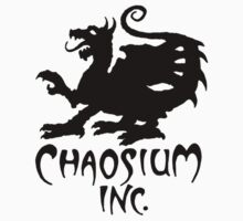 Chaosium Inc. Official T-Shirt (Black Logo) One Piece - Long Sleeve